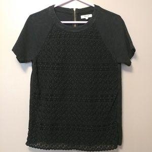 Madewell crochet front t-shirt